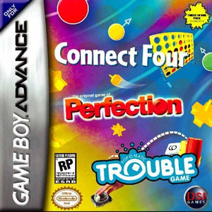 Connect Four/Trouble/Perfection - Game Boy Advance Game
