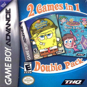 SpongeBob SquarePants / Fairly OddParents - Game Boy Advance Game