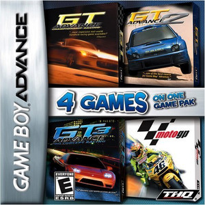 GT Advance Championship Racing / GT Advance 2 Rally Racing / GT Advance 3 Pro Concept Racing / Moto GP - Game Boy Advance Game
