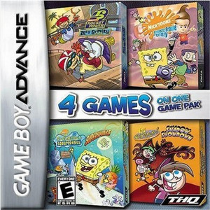 Nickelodeon Four Game Pack - Game Boy Advance Game
