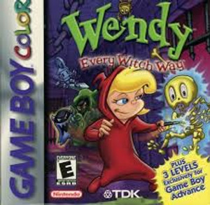 Wendy Every Witch Way - Game Boy Color Game