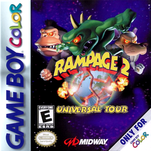 Rampage 2 - Game Boy Color Game