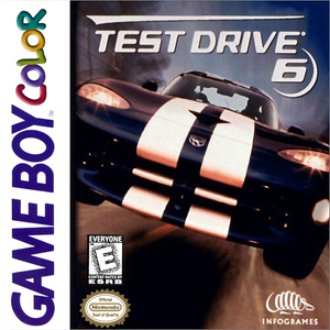 Test Drive 6 - Game Boy Color Game