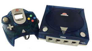 Original Clear Blue Dreamcast Player Pak