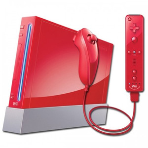 Wii System Red Player Pak