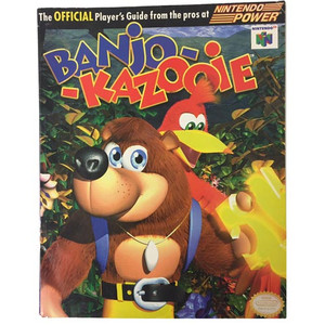 Player's Guide Banjo Kazooie N64 - Official Nintendo 64