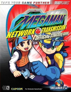 Megaman Network Transmissions GameCube Strategy Guide - Brady Games
