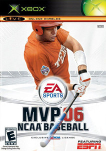 MVP NCAA Baseball 06 - Xbox Game