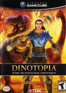 Dinotopia The Sunstone Odyssey - GameCube Game