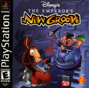 Complete Emperor's New Groove, Disney - PS1 Game