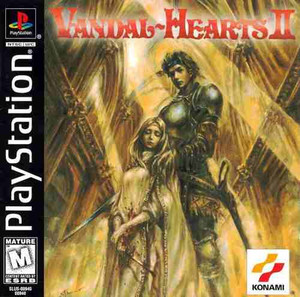Complete Vandall Hearts II - PS1 Game