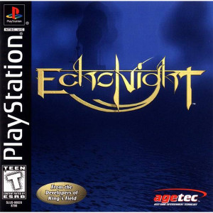 Echo Night Video Game For Sony PS1