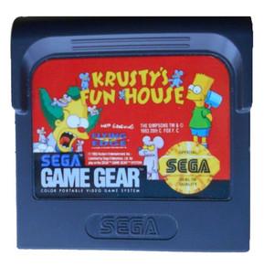Krusty's Fun House - Game Gear Game