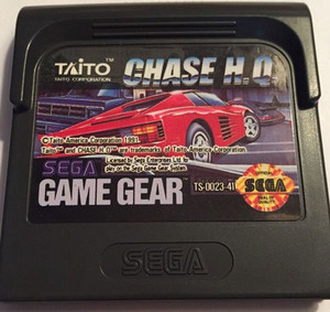Chase HQ - Game Gear Game