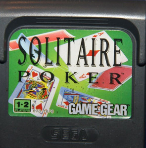 Solitaire Poker - Game Gear Game