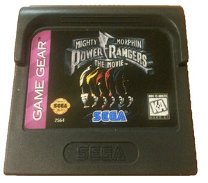 Mighty Morphin Power Rangers the Movie - Game Gear Game