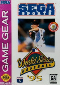 World Series Baseball '95 - Game Gear Game
