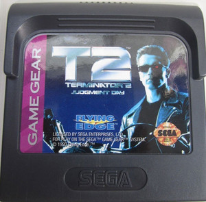 Terminator 2 Judgement Day - Game Gear Game