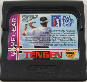 PGA Tour Golf - Game Gear Game