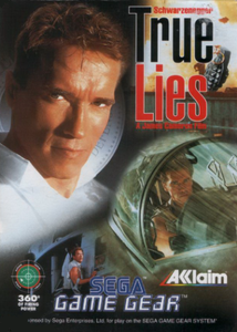 True Lies - Game Gear Game