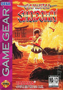 Samurai Shodown - Game Gear Game