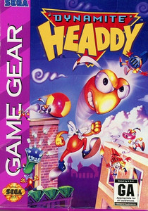 Dynamite Headdy - Game Gear Game