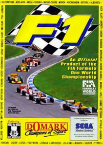 Formula One - Game Gear Game