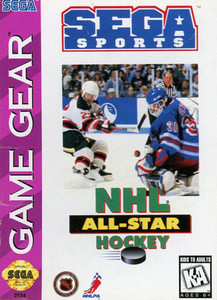 NHL All-Star Hockey - Game Gear Game