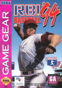 RBI Baseball '94 - Game Gear Game
