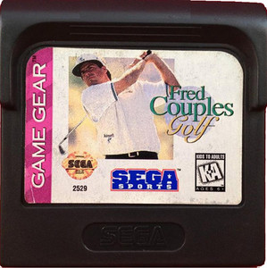 Fred Couples Golf - Game Gear Game