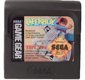 Paperboy - Game Gear Game