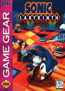 Sonic Labyrinth - Game Gear Game