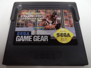 WWF Wrestlemania Steel Cage Challenge - Game Gear Game