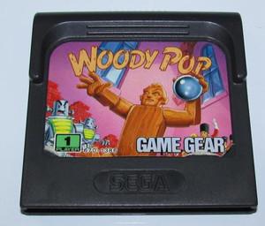 Woody Pop - Game Gear Game