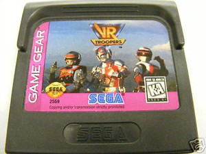 VR Troopers - Game Gear Game
