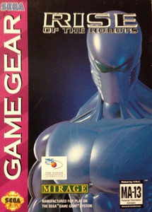 Rise of the Robots - Game Gear Game