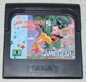 Land of Illusion - Game Gear Game