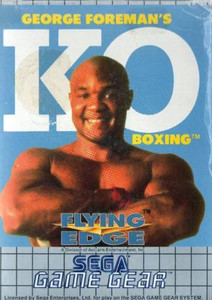 George Foreman's KO Boxing - Game Gear Game