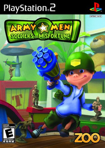 Army Men Soldiers of Misfortune - PS2 Game