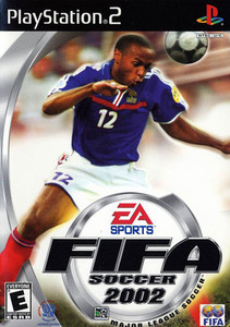 Fifa Soccer 2002 - PS2 Game