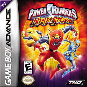 Power Rangers Ninja Storm - Game Boy Advance Game