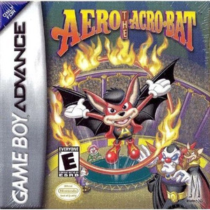 Aero the Acro-Bat - Game Boy Advance Game