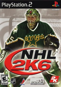 NHL 2k6 - PS2 Game