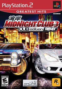 Midnight Club 3 Dub Edition Remix - PS2 Game