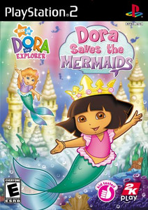 Dora Saves the Mermaids - PS2 Game