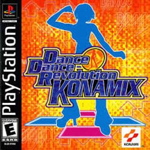 Dance Dance Revolution Konamix - PS1 Game