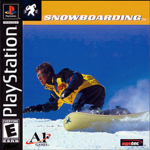 Snowboarding - PS1 Game