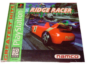Ridge Racer Greatest Hits Complete Template - PS1 Game