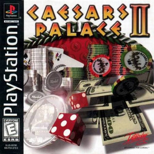 Complete Caesars Palace II - PS1 Game