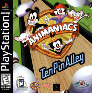 Animaniacs Ten Pin Alley - PS1 Game